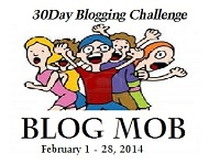 This is my Blog Mob Badge for the 30-Day Blogging Challenge.