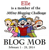 My sig for the 30 Day Blog Mob activity