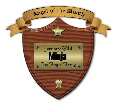 My first award from wdc angel army