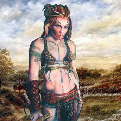 Celtic Woman Warrior