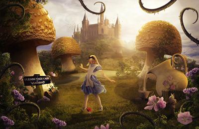 Credit: [Link: 'http://elementofone1.deviantart.com/art/Alice-In-Wonderland-457820176']