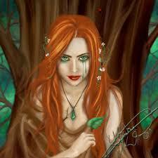 Persephone, Queen of the Underworld.