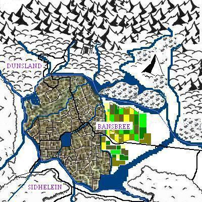 Bansbree: largest and most powerful city ever to sit on the borders of the Three Kingdoms