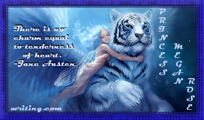 Girl and a white Tiger. Beautiful.