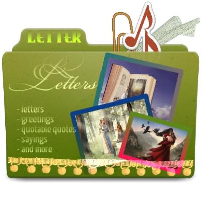 Letter Folder Cover