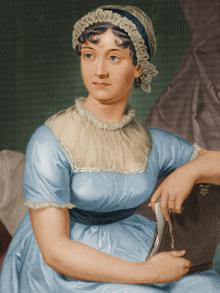 Original Jane Austen picture.