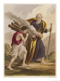 Abraham and his son Isaac. Genesis Chapter 22.