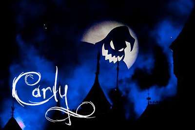 Ghosty Darkness in a Halloween signature.