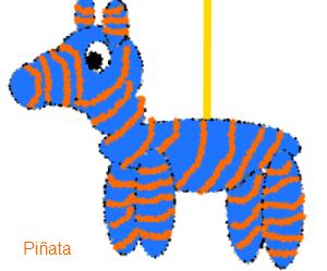 A piñata for Blog City Fair!
