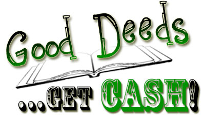good deed essay contest Recognizing and rewarding our children for positive behavior, accomplishments and good deeds.