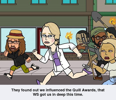 Vote for your favorites in the Quill Awards!