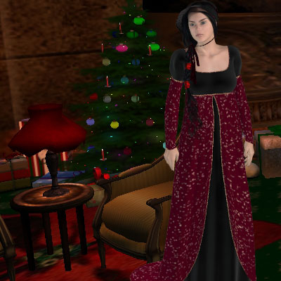 Neat Victorian woman and Christmas image by best friend Angel.