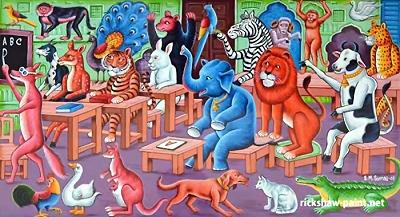 Erda animal school