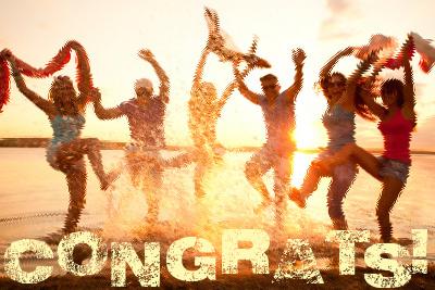 Congrats, you!