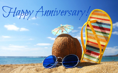 Wishing you a very Happy Anniversary!