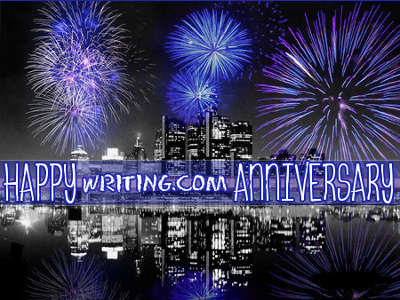 Wishing you a very Happy Writing.Com Anniversary!
