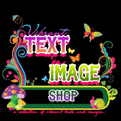 Vibrant text Banner