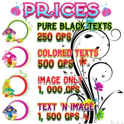 Vibrant Text n Image Shop Banner
