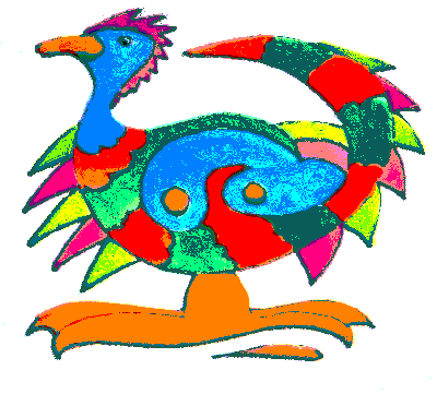 Big Foot Bird
