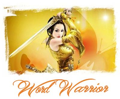 My new Word Warrior sig, created by Hanna