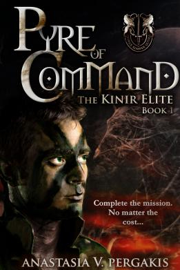 """The cover for """"Pyre of Command"""" (The Kinir Elite, Book 1)"""
