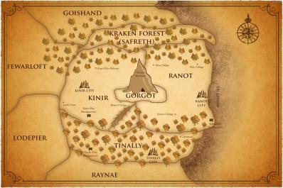 The Kinir Elite World Map
