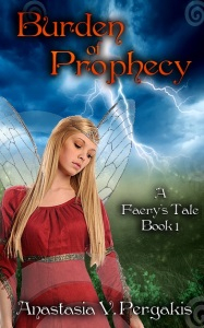 The Faery's Tale Saga: Part One: Burden of Prophecy Cover Art