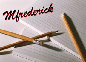 MFrederick---Write on!