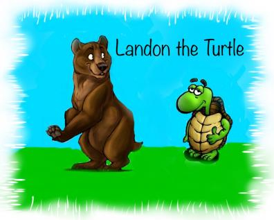 An image for my children's story, Landon the Turtle