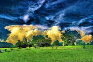 Digital Image of a storm!