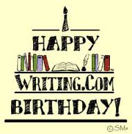 Writing.com birthday greeting