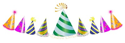 A party hat divider