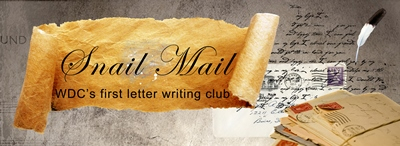 Header image for the letter writing group
