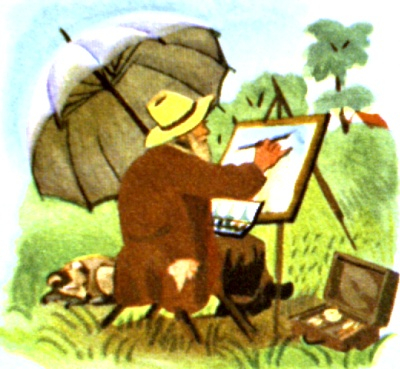The Rain Painter