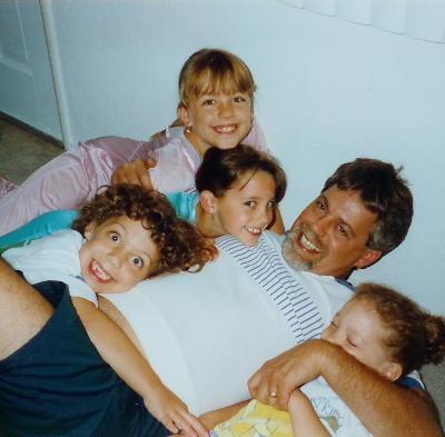 Me and my girls ruff-housing around