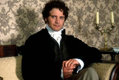 Picture of Mr. Darcy.