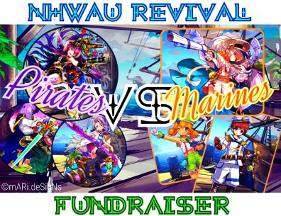 A banner for a fundraiser benefiting NHWAU and other upgrade groups around WDC!