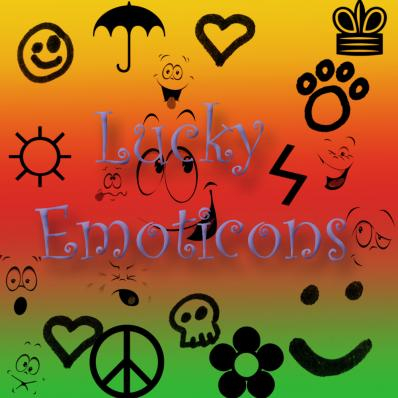lucky emoticons image