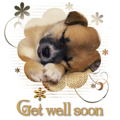 Hope you are feeling better soon.