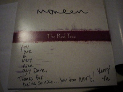 3/07 Autographed record by .moneen.