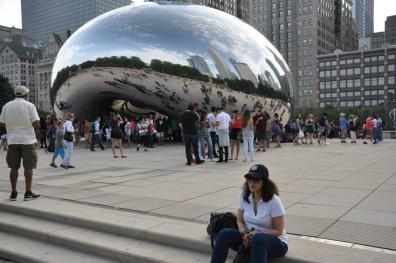 At Chicago's Millennium Park