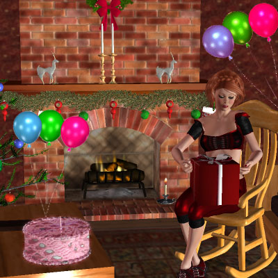 Beautiful image of me for my Birthday by best friend Angel.