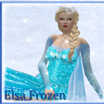 Another beautiful picture of Elsa by best friend Angel.
