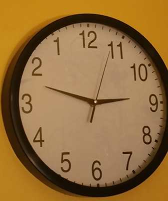 our perfect clock