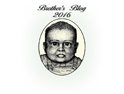 title page for Brother's Blog - 2016