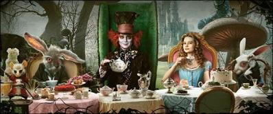 Picture of the Mad Hatter's Tea Party