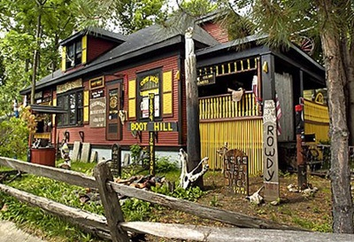 """The home of Roy """"Gypsy Jack"""" Steffenson Jr."""