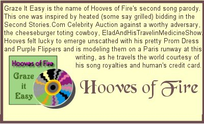 Hooves Grazes It Easy From Pallas Athene's Celebrity Auction