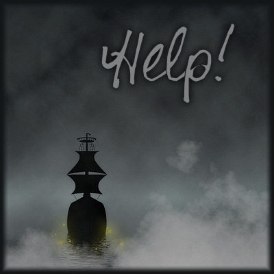 A 'help' image