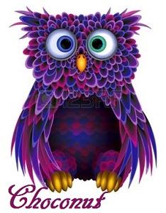 Purple Choconut Owl Sig.